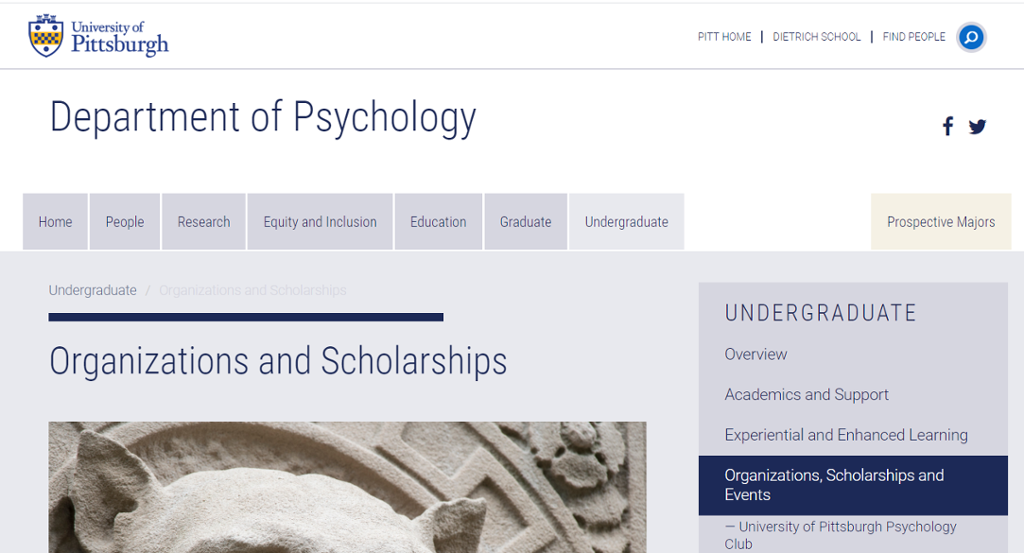 Image of ways to get involved with the Department of Psychology