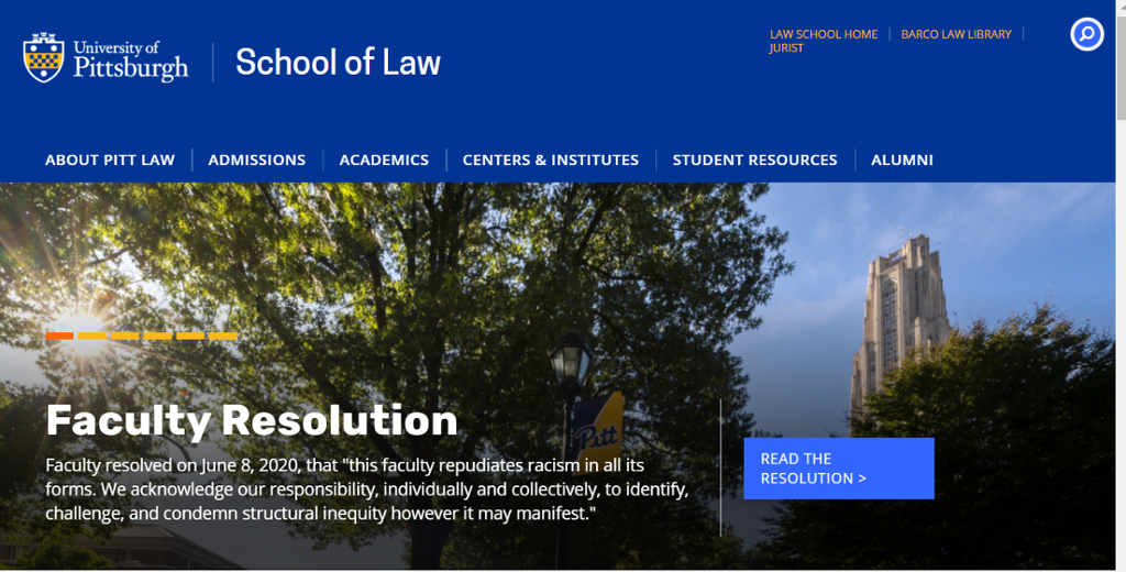 Image of the School of Law