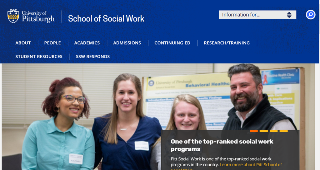 Image of Information on the School of Social Work
