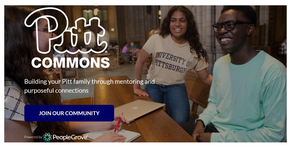 Pitt Commons screen shot.