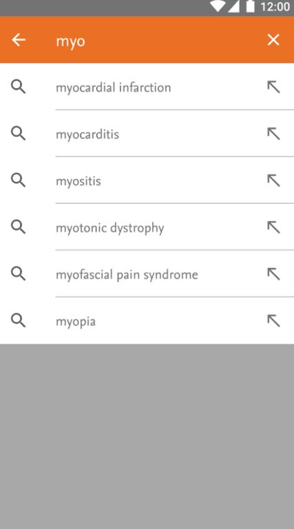 ClinicalKey App Screenshot