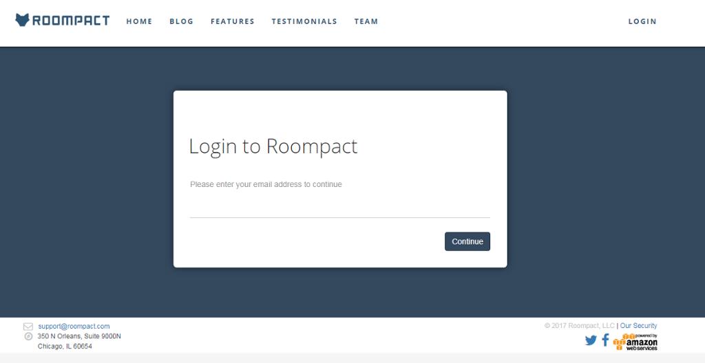 application screen shot