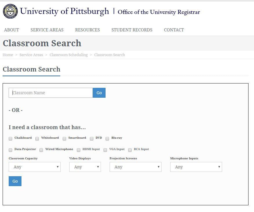 Classroom Search