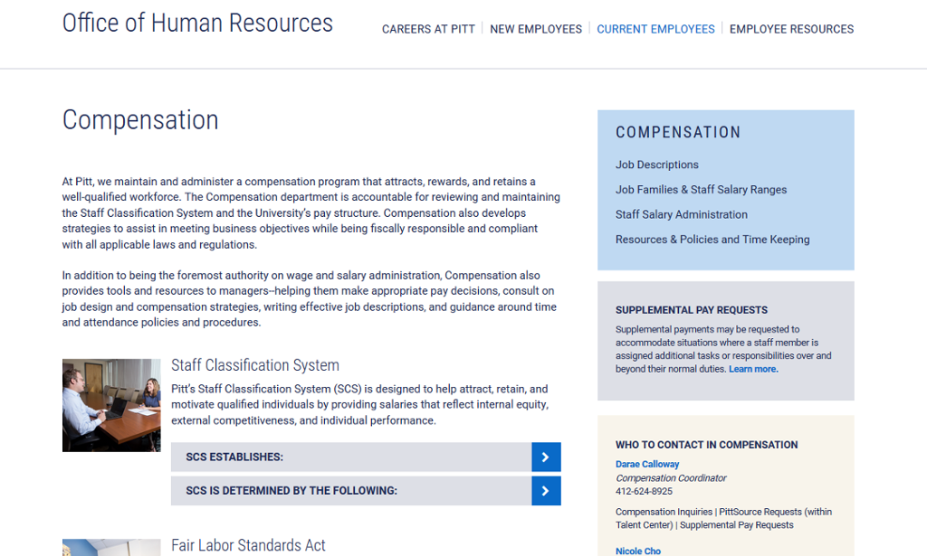 ohr website compensation apge screenshot
